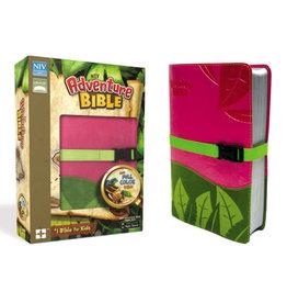 NIV Adventure Bible - Pink/Green