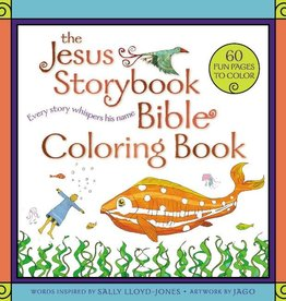 Sally Lloyd - Jones The Jesus Storybook Bible Coloring Book