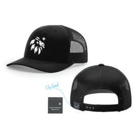 SEACOAST MUSIC Black Trucker Hat
