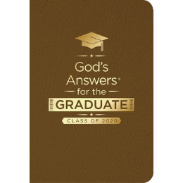 God's Answers For The Graduate 2020 - Brown