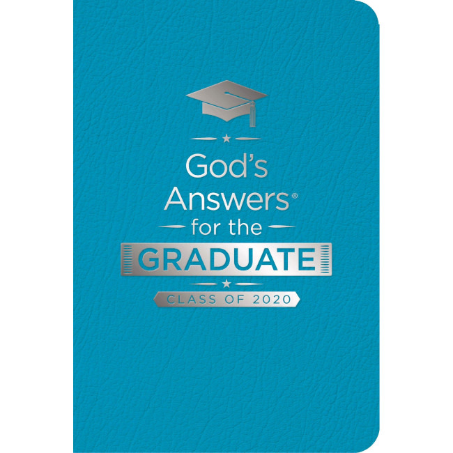 God's Answers For The Graduate 2020 - Teal