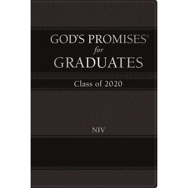 God's Promises for Graduates 2020 - Black