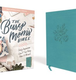 ZONDERVAN NIV Busy Mom's Bible, Comfort Print, Leathersoft, Teal