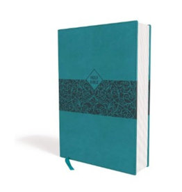 ZONDERVAN NASB Super Giant Print Reference Bible - Teal