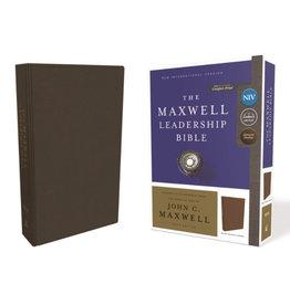 The Maxwell Leadership Bible NIV - Brown Leather