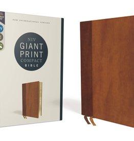 NIV Giant Print Compact Bible Brown