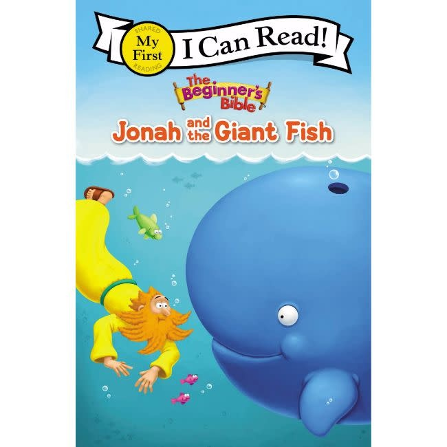 I Can Read The Beginner's Bible Jonah and the Giant Fish