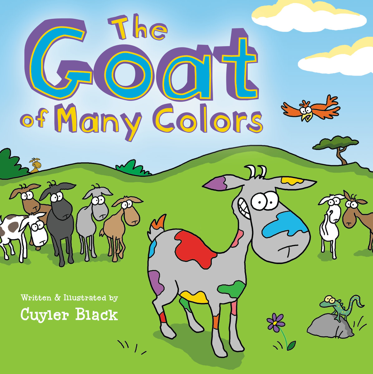 Goat Of Many Colors