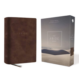 The Abide Bible NET - Brown Leathersoft
