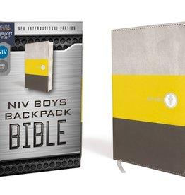 NIV Boys Backpack Bible