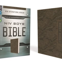 ZONDERVAN NIV Boys Bible Brown