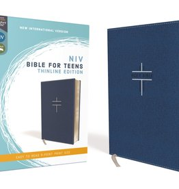 NIV Bible For Teens Thinline Edition - Blue