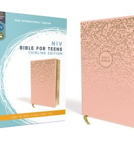 NIV Bible For Teens Thinline Edition - Pink