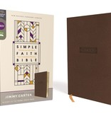ZONDERVAN NRSV Simple Faith Bible - Brown Leathersoft