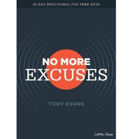 Tony Evans No More Excuses 90-Day Devotional For Teen Guys