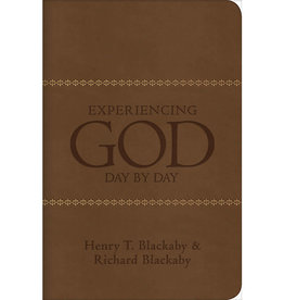 HENRY BLACKABY Experiencing God Day By Day Devotional Leathertouch Edition