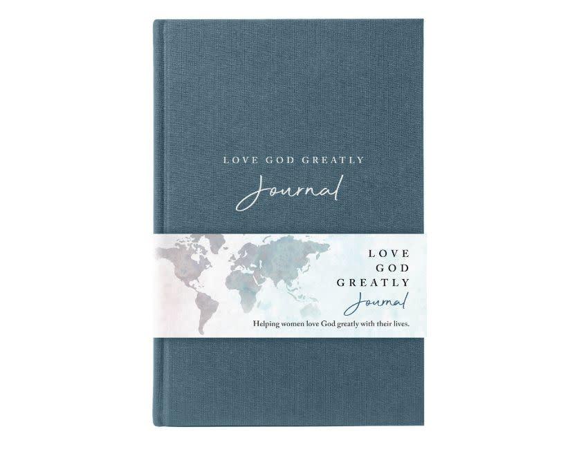 NET, Love God Greatly Journal, Cloth over Board, Comfort Print