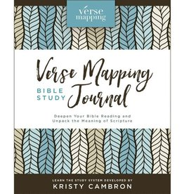 Kristy Cambron Verse Mapping Bible Study Journal