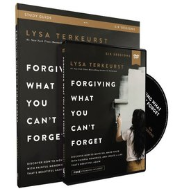 Lysa Terkeurst Forgiving What You Can't Forget Study Guide with DVD
