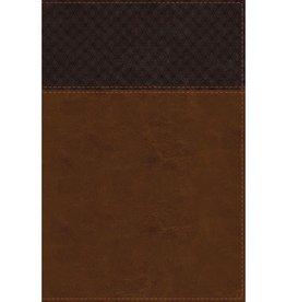 NIV Study Bible Large Print Brown