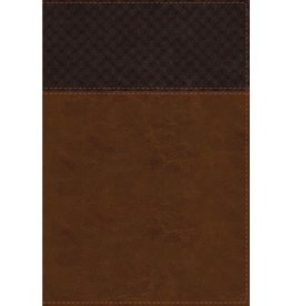 ZONDERVAN NIV Study Bible Large Print Brown