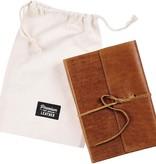 John 1:1-14 Wrap Premium Leather Journal