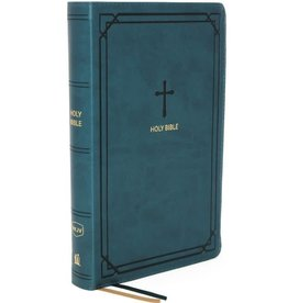 NKJV Compact Reference Bible - Teal