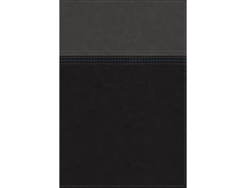 NASB, Thinline Bible, Leathersoft, Black, Red Letter Edition, 1995 Text, Thumb Indexed, Comfort Print
