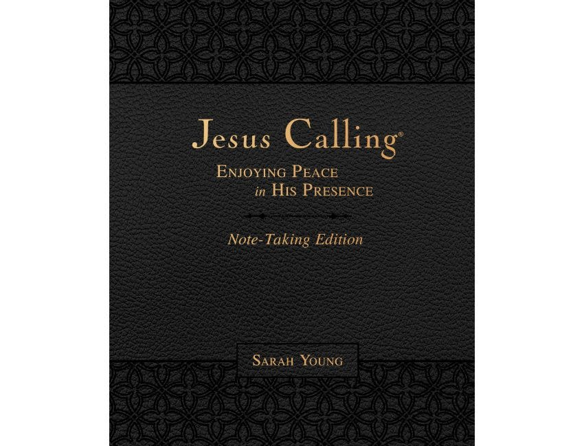 SARAH YOUNG Jesus Calling  - Notetaking Edition