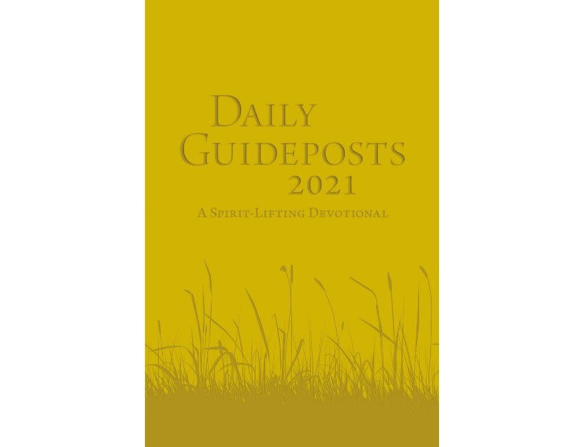 Daily Guideposts 2021 Leather Edition