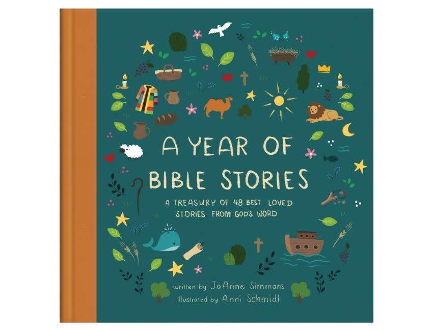 A Year of Bible Stories: A Treasury of 48 Best-Loved Stories from God's Word