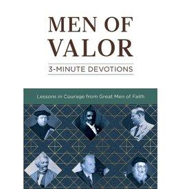 Men of Valor: 3-Minute Devotions