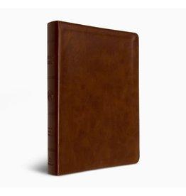 ESV Large Print Bible - Deep Brown