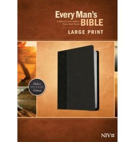 Every Man's Bible - NIV Large Print Onyx/Back