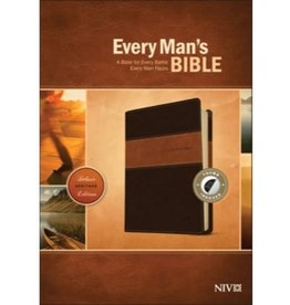 Every Man's Bible - NIV Brown/Tan Indexed
