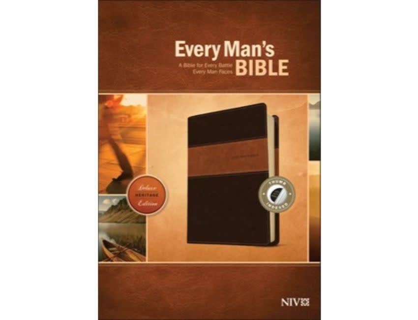 Every Man's Bible - NIV Brown/Tan Indexed