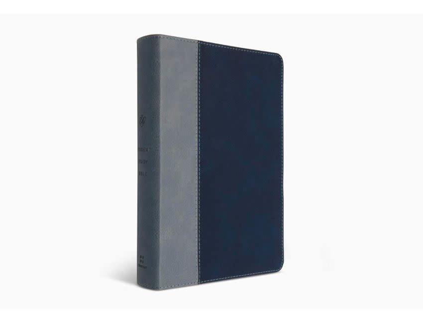 ESV Student Study Bible - Navy/Slate
