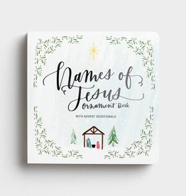Names Of Jesus Advent Ornament Book