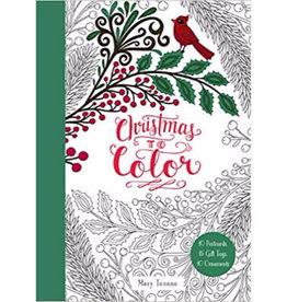 Mary Tanana Christmas To Color Gift Tags