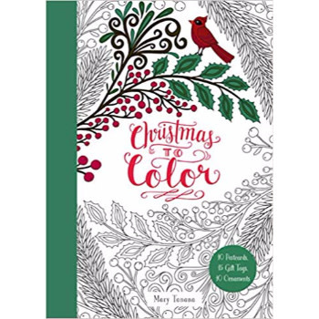 Mary Tanana Christmas To Color Gift Tags