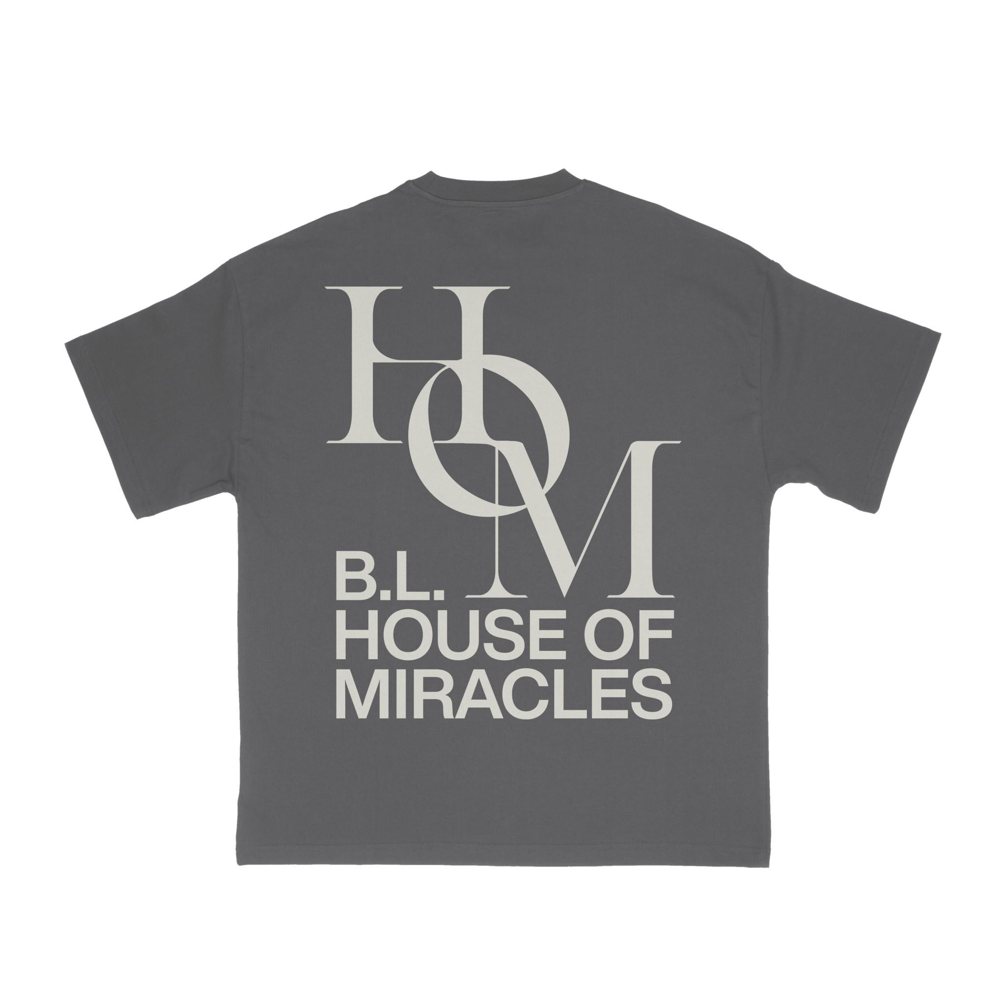 Brandon Lake Grey House of Miracles T-Shirt -
