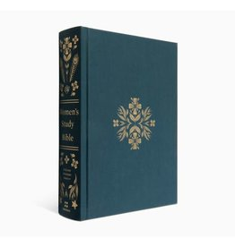 ESV Women's Study Bible - Cloth Over Board, Dark Teal