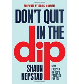 Don't Quit in the Dip: Stay Focused on God's Promises for You