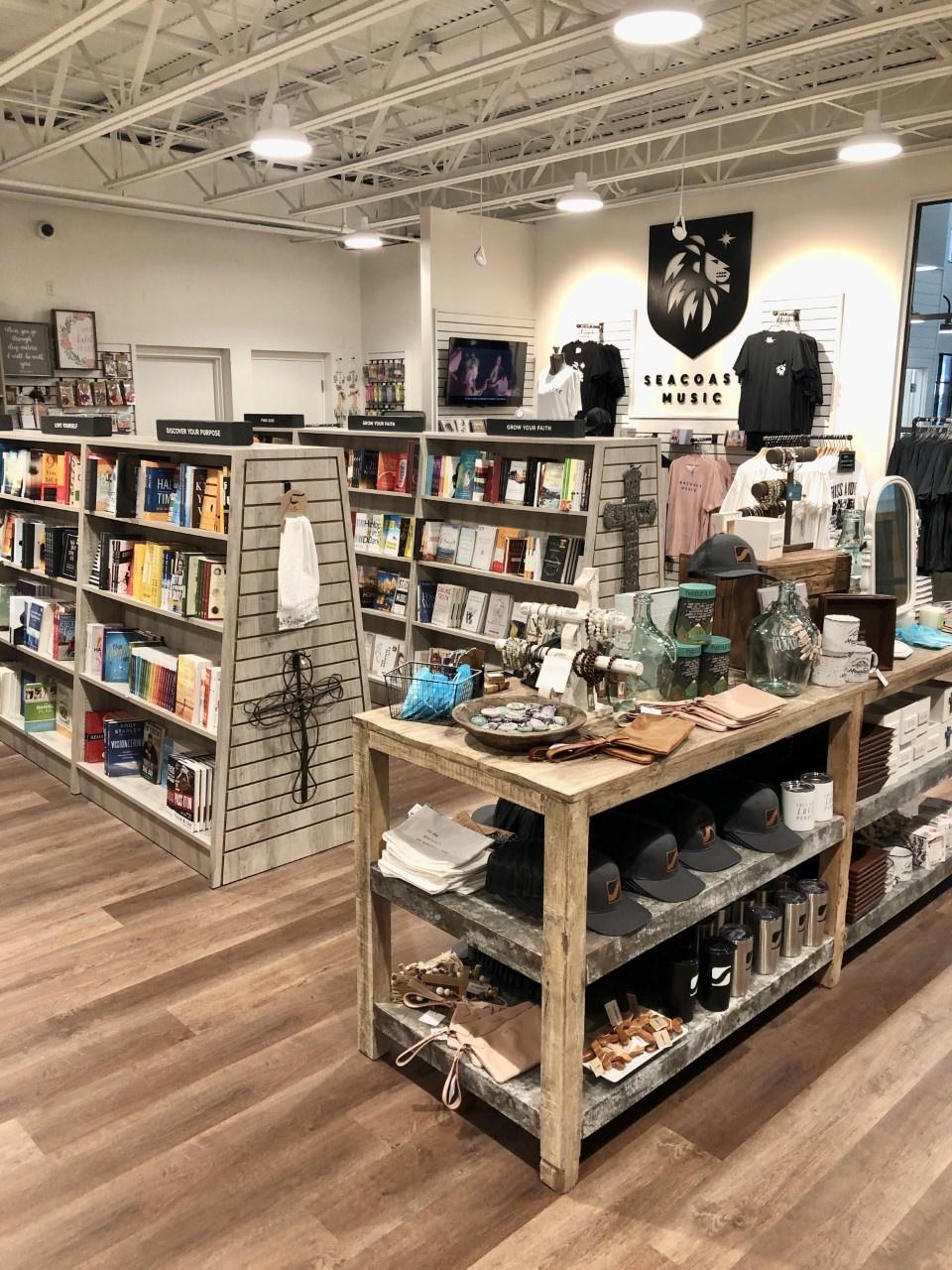 Interior of Seacoast Bookstore
