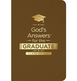 Jack Countryman God's Answers for the Graduate: Class of 2021 - Brown NKJV