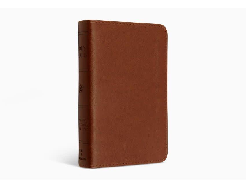 ESV Pocket Bible  TruTone®, Chestnut
