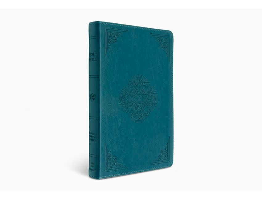 ESV Thinline Bible  TruTone®, Deep Teal, Rotunda Design