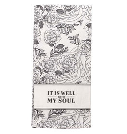 It Is Well With My Soul Cotton Tea Towel