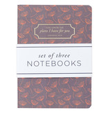 I Know the Plans Large Notebook Set - Jeremiah 29:11