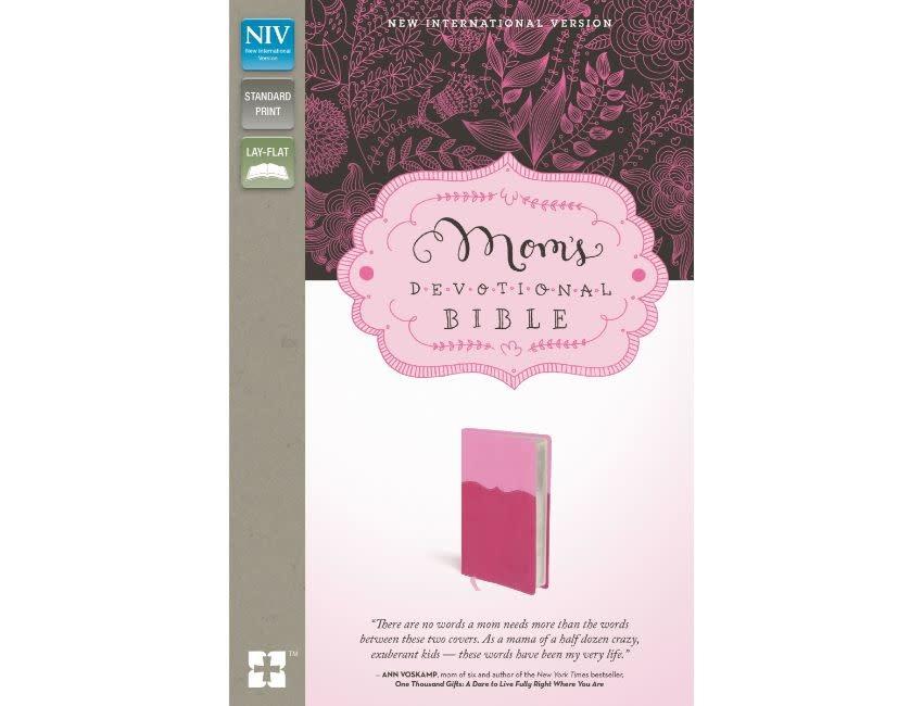 Mom's NIV Devotional Bible - Pink
